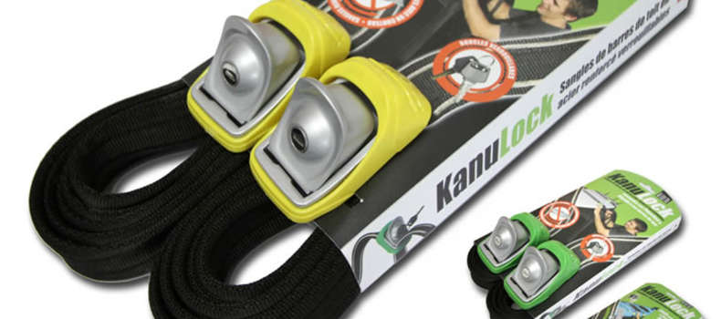 Cygnus Stock KanuLock Locking Tie Down Straps